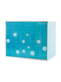 Calendario dell'Avvento Westwing, Scatola: carta, Turchese, Larg. 57 x Alt. 47 cm