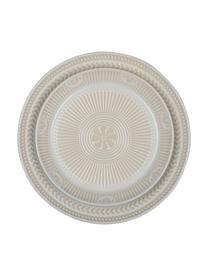 Assiette à petit déjeuner porcelaine Sonia, 2 pièces, Blanc