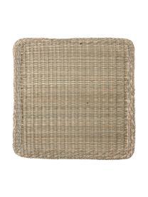Podkładka z trawy morskiej Lena, Trawa morska, Beżowy, S 38 x D 38 cm