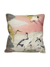 Coussin 45x45 velours Storcks, Multicolore