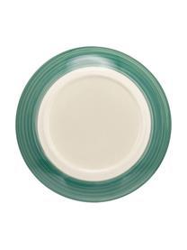 Set 18 piatti tonalità verdi Lucca, 6 persone, Gres, Verde, 6 persone (18 pz)