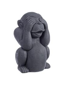 Deko-Objekt Monkey, Beton, beschichtet, Anthrazit, 22 x 36 cm