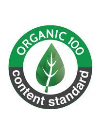 Wickelkissen Pressed Leaves aus Bio-Baumwolle, Bezug: 100% Biobaumwolle, OCS-ze, Creme, Rosa, Blau, Grau, Gelb, 50 x 65 cm