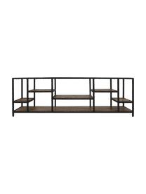 Lowboard Levels aus Holz und Metall, Mangoholz, Metall, Braun, Schwarz, 170 x 55 cm