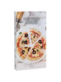 Silberne Pizzaschneider und Heber Belli mit Akazienholzgriff, 2er-Set, Akazienholz, Metall, Metall, Akazienholz, 32 x 4 cm