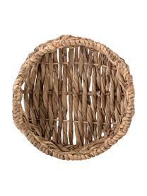 Brotkorb Hyazinth aus Wasserhyazinthe, Wasserhyazinthe, Braun, Ø 24 x H 10 cm