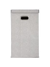 Wäschekorb Stripes, Griff: Metall, Beige, Cremefarben, 32 x 57 cm