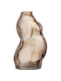 Vaso in vetro Evie, Vetro, Marrone trasparente, Larg. 15 x Alt. 19 cm