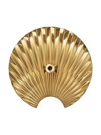 Wandhaken Concha aus Messing, Messing, Messing, Ø 12 cm