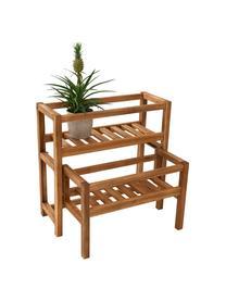 Holz-Pflanzregal New Gardening, ausziehbar, Akazienholz, geölt, Akazienholz, 61 x 60 cm