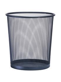 Papierkorb Mesh, Metall, lackiert, Grau, Ø 26 x H 28 cm