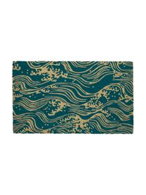 Paillasson Waves, Turquoise, beige