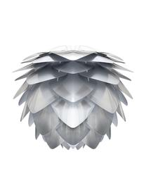 Lampada a sospensione Silvia, Paralume: polipropilene, Grigio argento, Ø 32 x Alt. 25 cm
