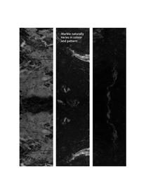 Lampadaireen marbre noir Cody, Marbre noir