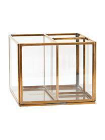 Organizer Sorted, Frame: vermessingd metaal, Transparant, messingkleurig, 13 x 10 cm