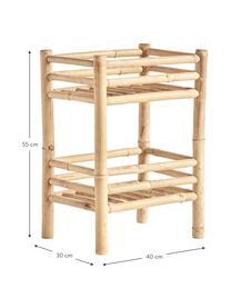 Bamboe wandrek Bamra, Bamboe, Lichtbruin, 40 x 55 cm