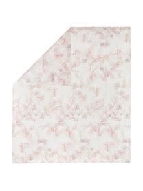 Set lenzuola in percalle Atollo, Tessuto: percalle Il percalle è un, Rosa, 250 x 290 cm + 2 federe 50 x 80 cm + lenzuola 180 x 200 cm