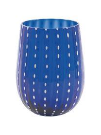 Set 6 bicchieri acqua colorati Shiraz, Vetro soffiato, Multicolore, Ø 7 x Alt. 11 cm
