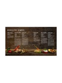 Kochbuch Burger Unser, Papier, Hardcover, Mehrfarbig, 25 x 28 cm