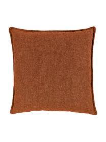 Poduszka Lennon, Tapicerka: 100% poliester, Terakota, S 60 x D 60 cm