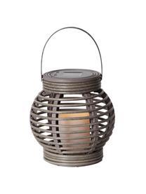 Solar LED-Kerze Lantern, Grau, 16 x 16 cm