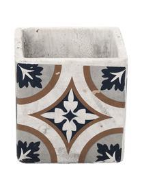 Mała osłonka na doniczkę z betonu Portugal, Beton, Wielobarwny, S 11 x W 11 cm