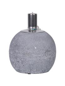 Lampa naftowa Raw, Beton, stal szlachetna, Ciemny szary, Ø 14 x W 17 cm