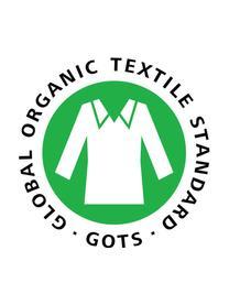 Puf de algodón ecológico Happycat, Gris, An 90 x Al 100 cm