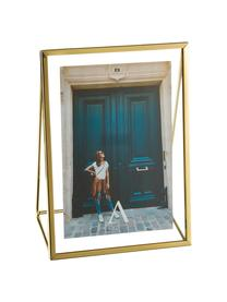 Bilderrahmen Memi, Rahmen: Metall, beschichtet, Front: Glas, Goldfarben, 15 x 20 cm