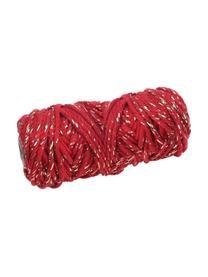 Ficelle cadeau Twist, Rouge, couleur dorée
