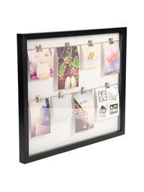Ramka na zdjęcia Clipline, Tworzywo sztuczne, Czarny, 10 x 15 cm