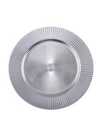 Podstawka na talerz Athens, Tworzywo sztuczne, Odcienie srebrnego, Ø 31 cm