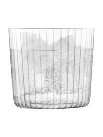 Verre à eau soufflé bouche Gio, 4pièces, Transparent