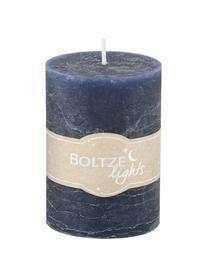 Kerzen-Set Birara, 3-tlg., Blautöne, Ø 7 x H 10 cm