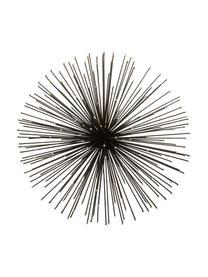 Wandobjekt-Set Ray aus Metall, 3-tlg., Metall, Schwarz, Sondergrößen