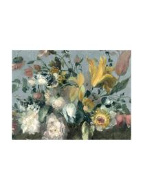 Fototapete Oil Painted Flowers Bright, Vlies, Mehrfarbig, 372 x 280 cm
