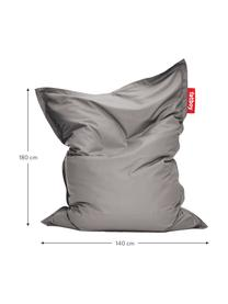 Sitzsack Original in Grau, Bezug: Sunbrella, Grau, 140 x 180 cm