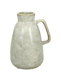 Vaas Ametrine, Keramiek, Beige, 12 x 17 cm