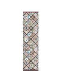 Antypoślizgowa mata podłogowa z winylu Aylin, Winyl pochodzący z recyklingu, Wielobarwny, S 65 x D 255 cm