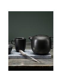 Tasses noir mat Nordic Kitchen, 4pièces, Noir, mat