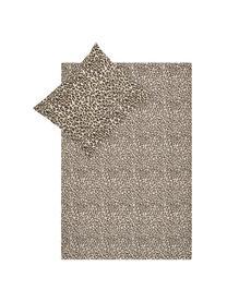 Dekbedovertrek Roarr, Katoen, Beigetinten, bruin, 240 x 220 cm