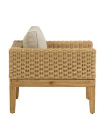 Garten-Loungesessel Giana, Füße: Akazienholz, Hellbraun, B 80 x T 80 cm