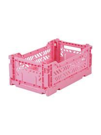 Klappkiste Baby Pink, stapelbar, klein, Recycelter Kunststoff, Pink, 27 x 11 cm