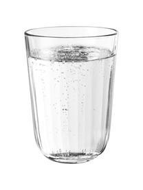 Thermogläser Facette aus gehärtetem Glas, 4 Stück, Glas, Transparent, Ø 9 x H 12 cm
