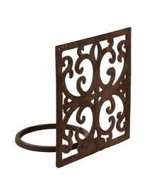 Wand-Pflanztopfhalter Classic, Metall, beschichtet, Braun, 18 x 18 cm