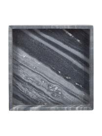 Vassoio decorativo in marmo grigio Sienna, Marmo, Grigio, Larg. 30 x Alt. 4 cm