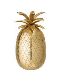 Eiseimer Pineapple, Aluminium, Goldfarben, Ø 13 x H 24 cm