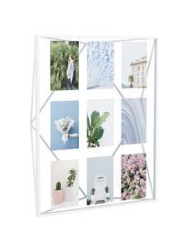 Bilderrahmen Prisma, Metall, beschichtet, Weiß, 10 x 15 cm