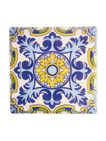 Topfuntersetzer-Set Deruta, 4-tlg., Keramik, Kork, Mehrfarbig, B 16 x T 16 cm