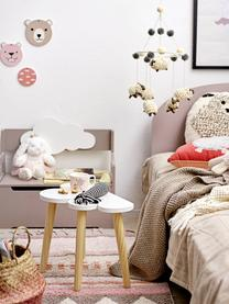 Koberec Nagou, Odstíny růžové, bílá, béžová